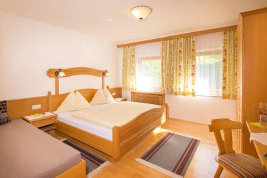 Ferienwohnungen - Dreibettzimmer - Wagrain - Kleinarl - Urlaub - Salzburger Land - Bauernhof - Ortnerbauer