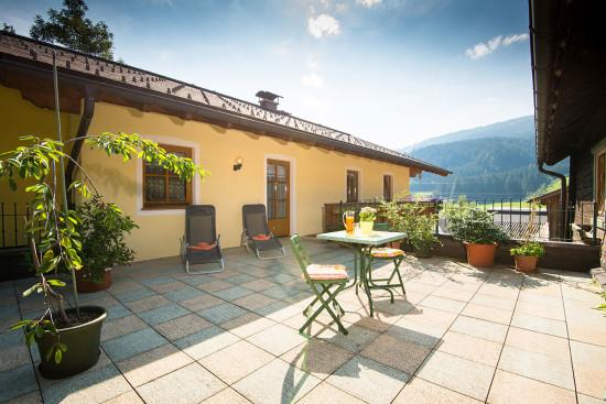 Sonnenterrasse - Ferienwohnungen - Wagrain - Kleinarl - Urlaub im Salzburger Land