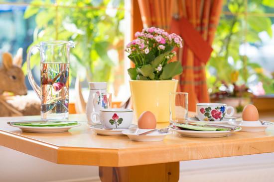 Frühstücksbuffet - Zimmer - Wagrain - Kleinarl - Urlaub - Salzburger Land - Bauernhof - Ortnerbauer