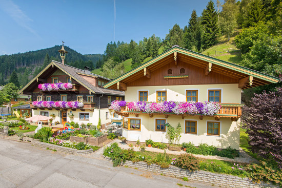 Ortnerbauer - Wagrain-Kleinarl - Lage und Anreise