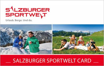 Salzburger Sportwelt Card - Vorteilskarte - Salzburger Land - Ortnerbauer - Wagrain