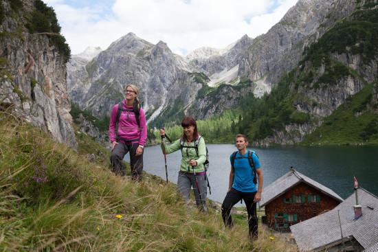 Wandern - Sommerurlaub - Wagrain - Kleinarl - Salzburger Land - Ferienwohnungen - Ortnerbauer