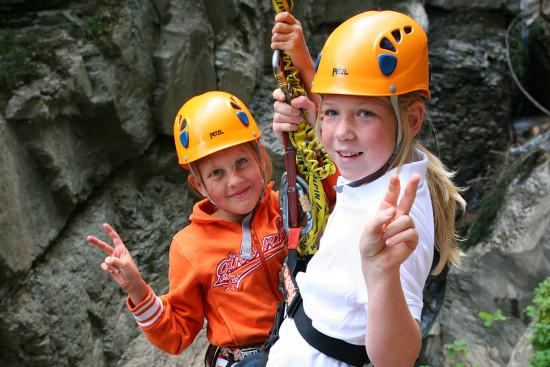 Flying Fox - Sommerurlaub - Wagrain - Kleinarl - Salzburger Land - Ferienwohnungen - Ortnerbauer