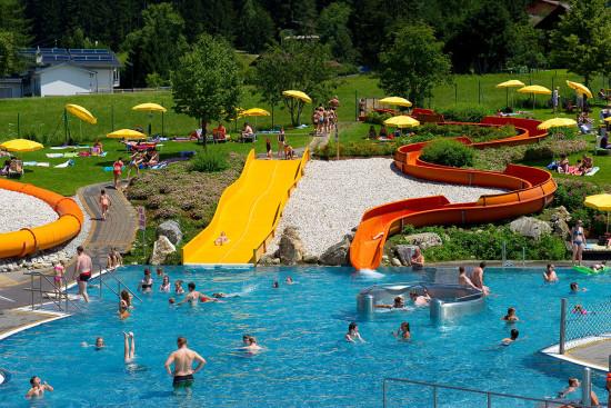 Wasserwelt Wagrain - Sommerurlaub - Wagrain - Kleinarl - Salzburger Land - Ferienwohnungen - Ortnerbauer
