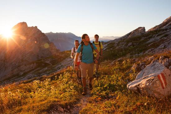 Nordic Walking - Sommerurlaub - Wagrain - Kleinarl - Salzburger Land - Ferienwohnungen - Ortnerbauer