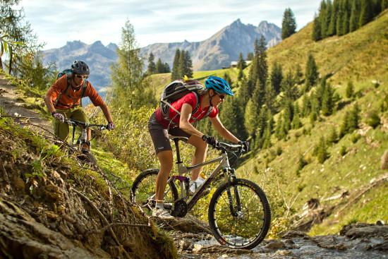 Mountainbiken - Sommerurlaub - Wagrain - Kleinarl - Salzburger Land - Ferienwohnungen - Ortnerbauer