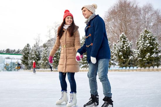 Eislaufen - Winterurlaub - Wagrain - Salzburger Land - Zimmer - Ferienwohnungen - Ortnerbauer