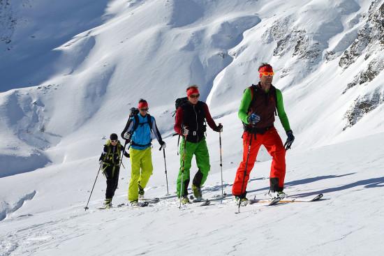 Skitouren - Winterurlaub - Wagrain - Salzburger Land - Zimmer - Ferienwohnungen - Ortnerbauer
