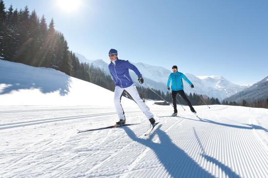 Langlaufen - Winterurlaub - Wagrain - Salzburger Land - Zimmer - Ferienwohnungen - Ortnerbauer